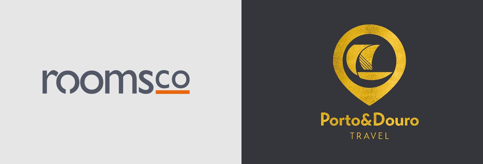RoomsCo e Porto&Douro Travel Logos